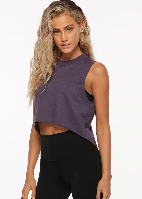 Show Me Off Life Style Tank, Night Violet, hi-res