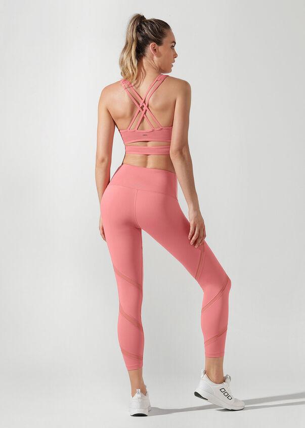 Wrap Yoga Bra, Quartz Pink, hi-res