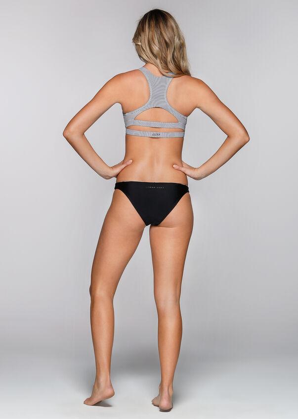 Swim Active Bikini Brief, Black/White, hi-res