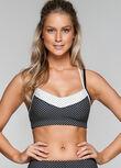 Rocky Sports Bra, Black/White, hi-res