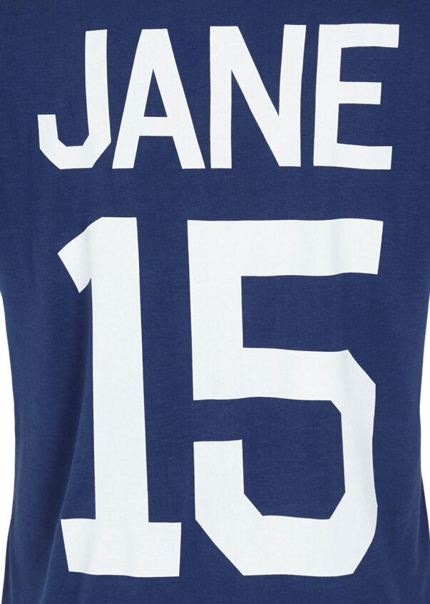 Jane Classic S/Slv T-Shirt, Indigo, hi-res