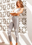 Uplift Ankle Biter Leggings, Concrete Grey Marl, hi-res