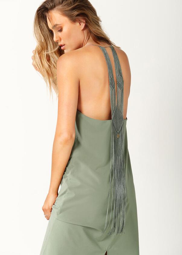 Arizona Slip Dress, Light Khaki, hi-res