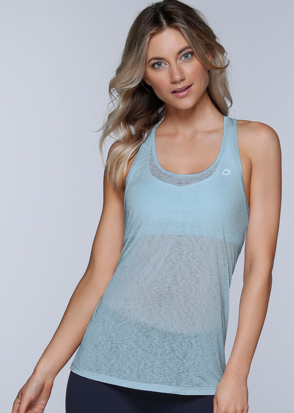 Superfine Excel Run Tank, Toulouse Blue, hi-res