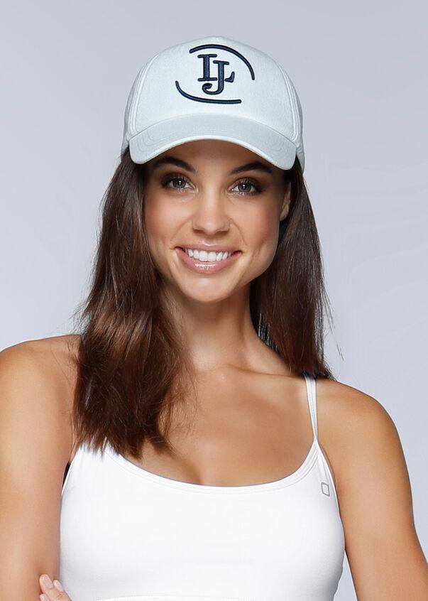LJ Denim Trucker Hat, Denim, hi-res