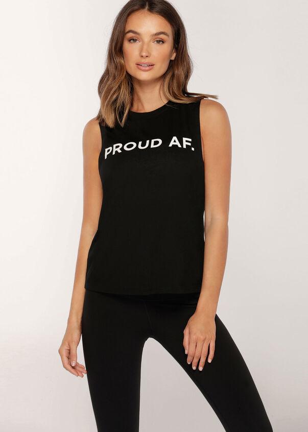 Proud Tank, Black, hi-res