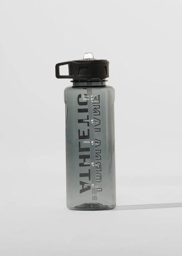 LJ Athletic 1L Water Bottle, Black, hi-res