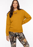 LJ Retro Iconic Sweat, Hot Mustard, hi-res