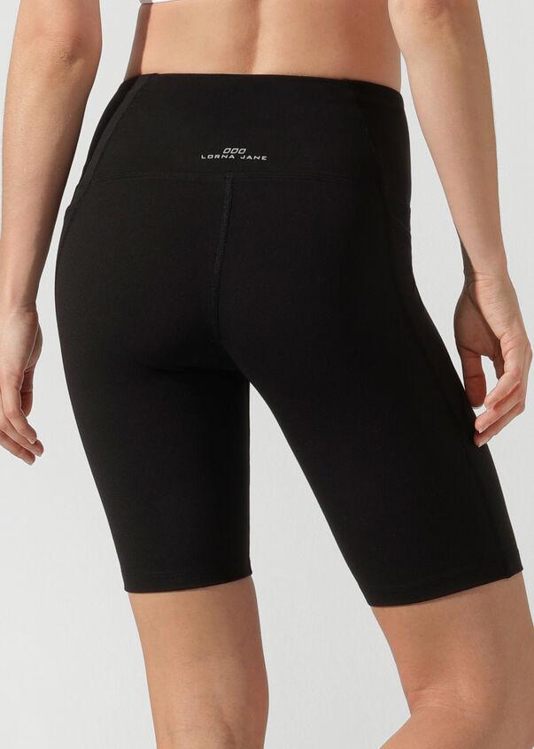 Lace Up Bike Short, Black, hi-res