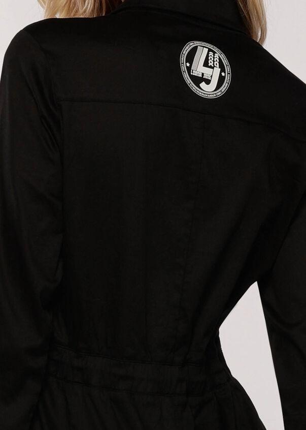 Off Duty Jumpsuit, Black, hi-res