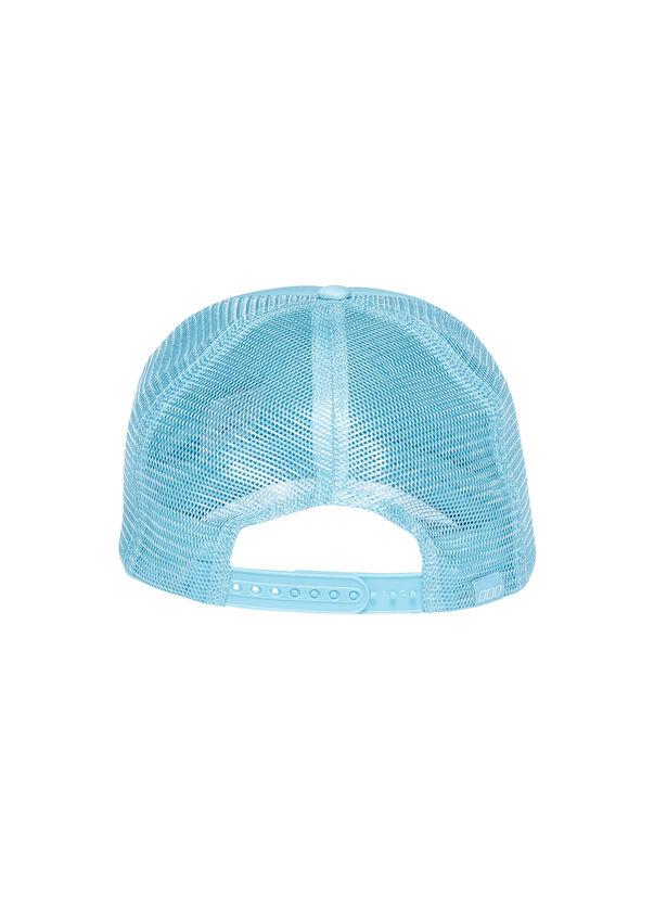 Hustle Trucker Hat, Pastel Blue, hi-res