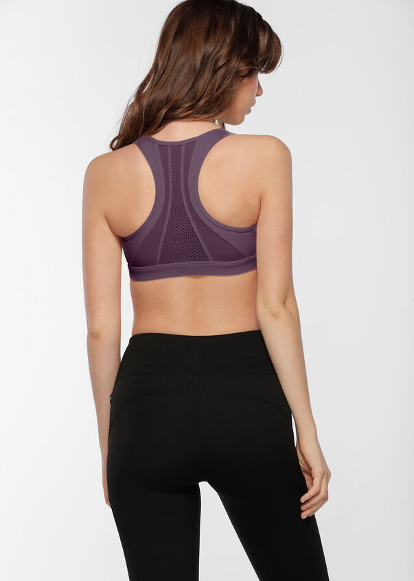 Comfort Support Sports Bra, Soft Violet, hi-res