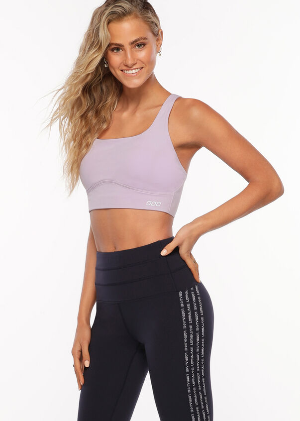 Sculpt And Support Sports Bra, Dusty Lilac, hi-res