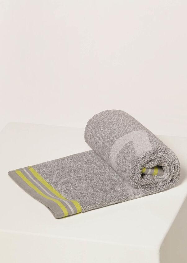 Icon Sweat Towel, Grey Marl / Citrus Pop, hi-res