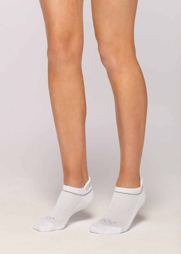 LJ Running Sock, White, hi-res
