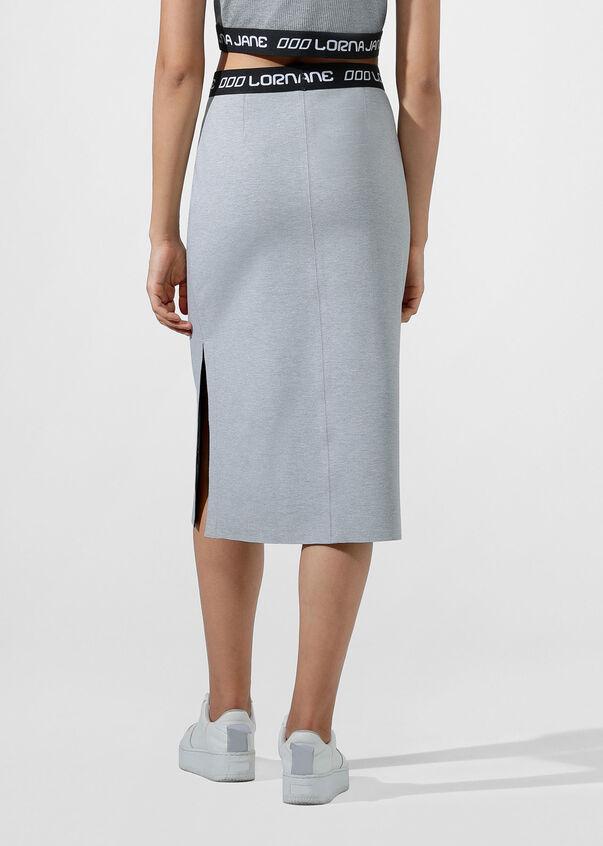 Lady Leisure Skirt, Mid Grey Marl, hi-res