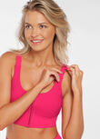 """THE ONE"" Sports Bra, Neon Raspberry, hi-res"