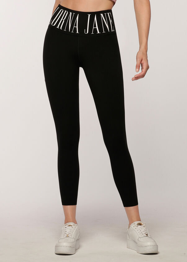 LJ Heritage Core Ankle Biter Leggings, Black, hi-res