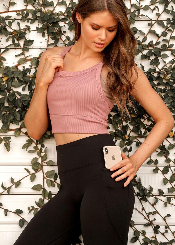 Amy Phone Pocket 7/8 Leggings, Black, hi-res