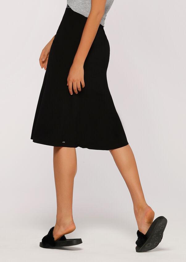 Laid Back Skirt, Black, hi-res