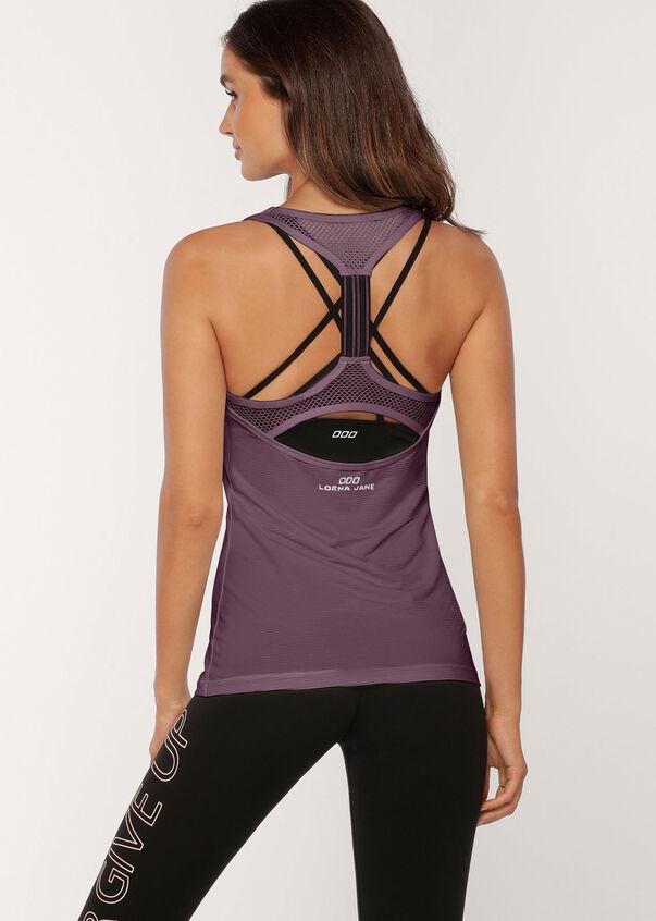 Gym Active Tank, Soft Violet, hi-res