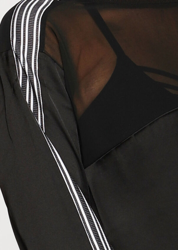 Harlem Silky L/Slv Top, Black, hi-res