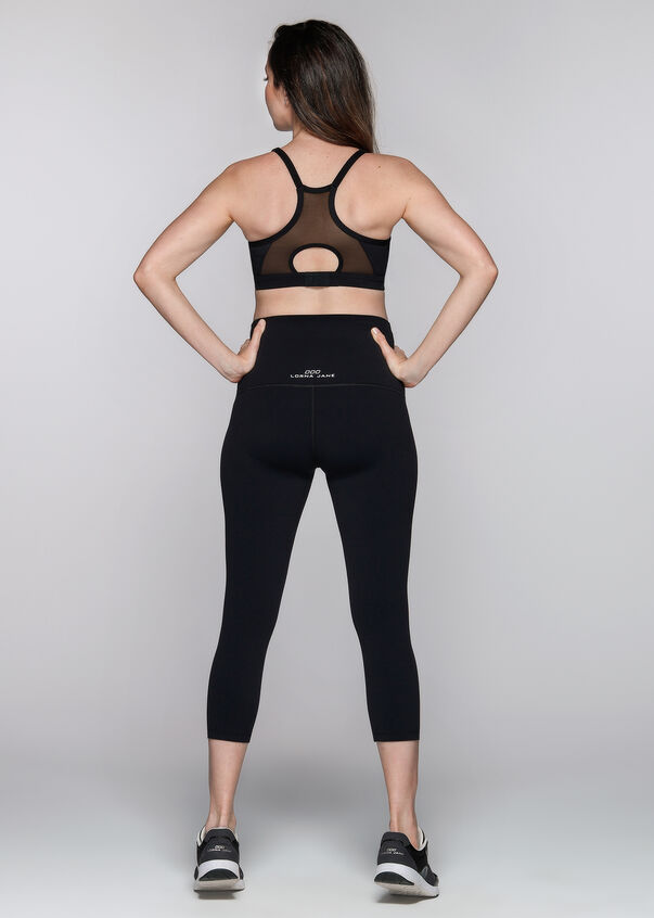 Maternity Sports Bra, Black, hi-res