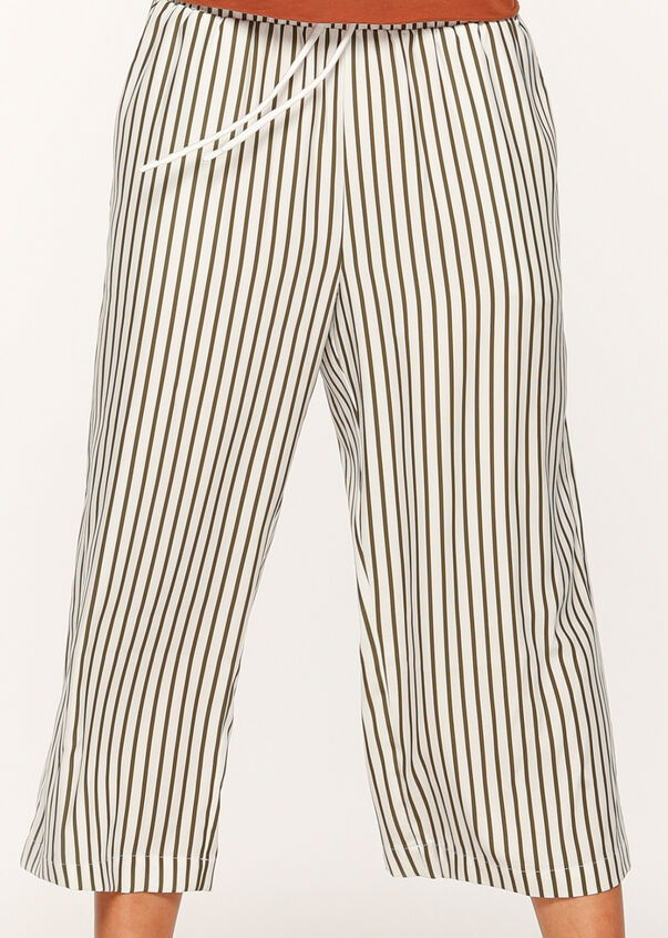 Down Time Cropped Pant, White/Luxury Green, hi-res