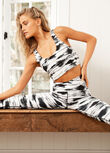 Gazelle Full Length Leggings, Gazelle Print, hi-res