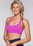 Active Fashion Sports Bra, Berrylicious, hi-res
