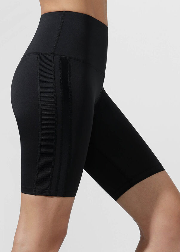 Alexa Bike Short, Black, hi-res