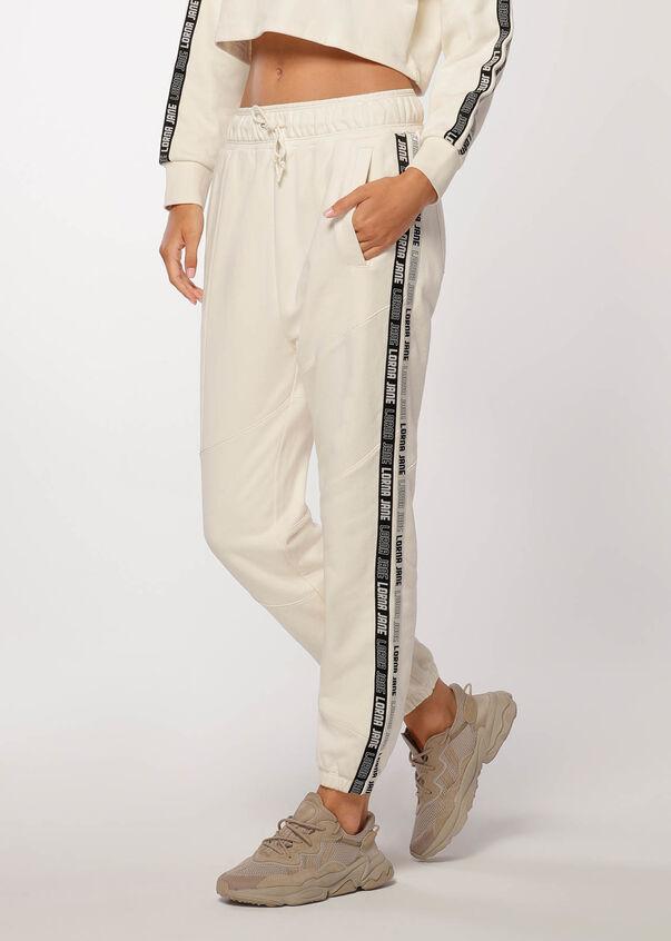 Comfort Tracksuit Pant, Cream, hi-res