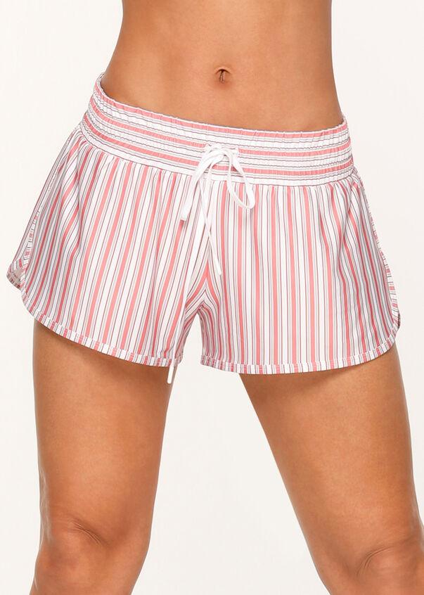 Vintage Stripe Run Short, Vintage Stripe Print, hi-res