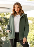 Easy Oversized Parka, Military, hi-res