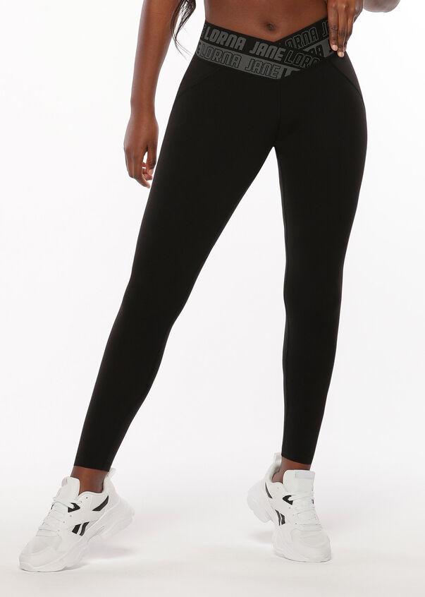 Finesse Full Length Leggings, Black, hi-res