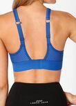Compress & Compact Sports Bra, Cobalt Blue, hi-res