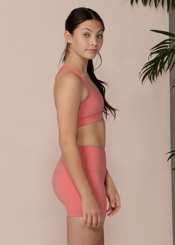 Infusion Sports Bra - Tween, Quartz Pink, hi-res