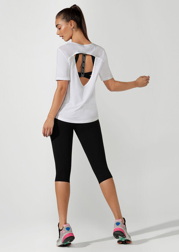 Lightweight Tech Active Tee, White, hi-res