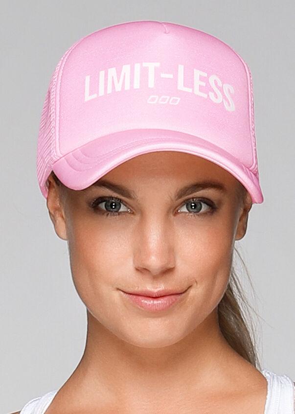 No Limits Trucker Hat, Romance Pink Marl, hi-res