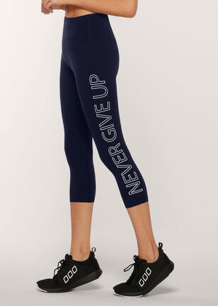 Never Give Up 7/8 Leggings