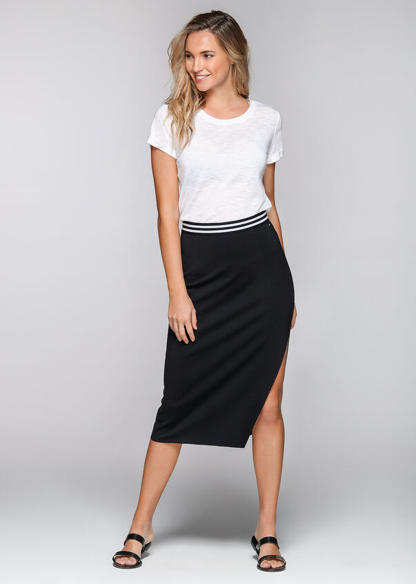 Day To Night Skirt, Black, hi-res
