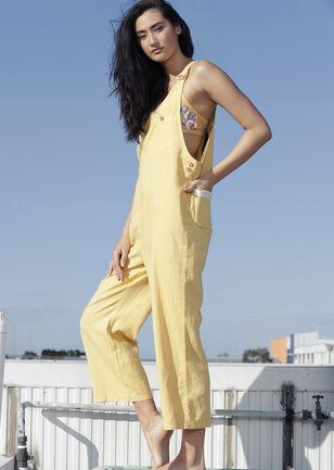 Easy Wear Linen Overalls