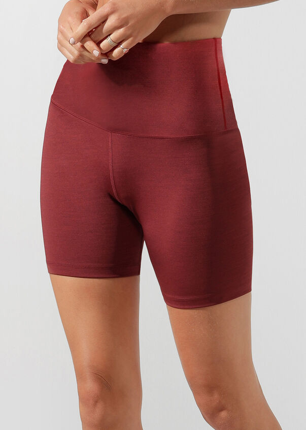 Energise Original Short Tight, Light Dark Red Marl, hi-res
