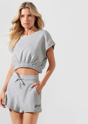 Complete Comfort Cropped Sweat