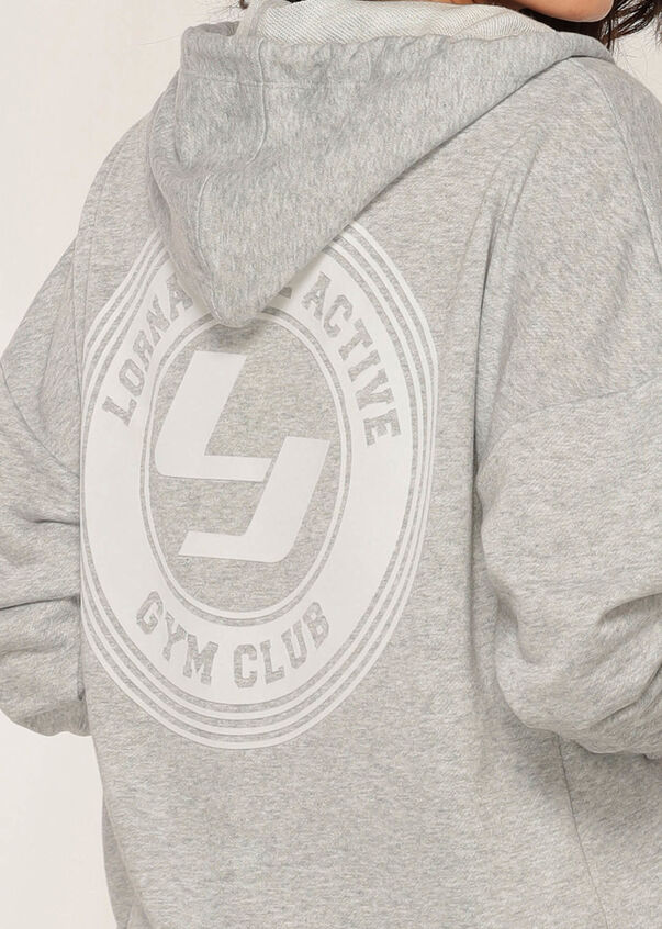 Swagger Hoodie, Light Grey Marl, hi-res