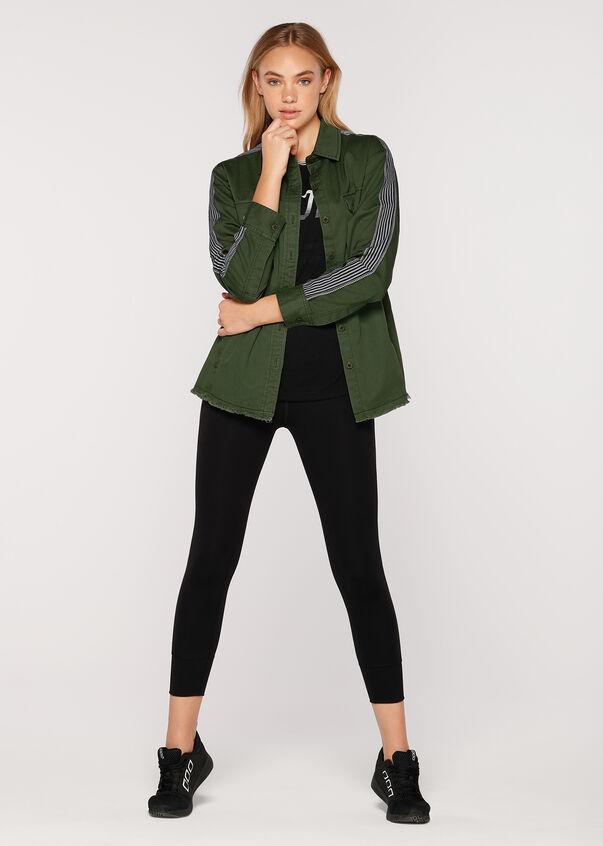 Jasper L/Slv Jacket, Army Green, hi-res