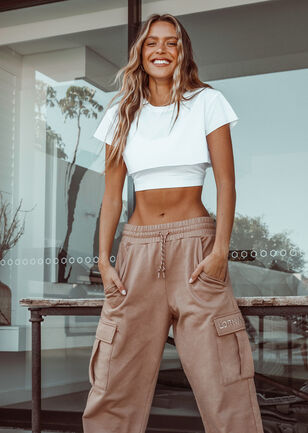Extreme Cropped Active Tee