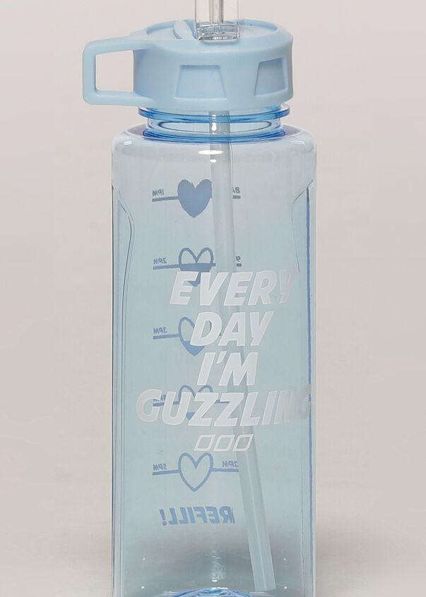 Everyday Guzzle 1L Drink Bottle, Toulouse Blue, hi-res